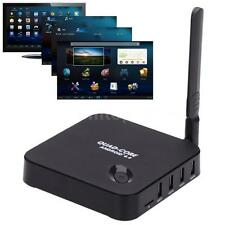 Android 4.4 Smart Media Player Quad Core TV BOX WiFi 1080P Streaming