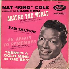 "NAT KING COLE ""AROUND THE WORLD"" POP VOCAL JAZZ 50'S EP CAPITOL 1-813"