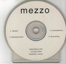 (BY821) Mezzo, Tension - 2001 DJ CD