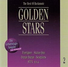 GOLDEN STARS - THE BEST OF ROCKMUSIC 2 / CD - TOP-ZUSTAND