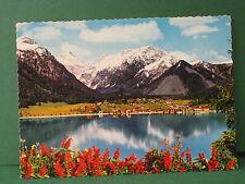ältere AK Pertisau am Achensee 950m Blick geg. Karwendelgebirge Tirol Österreich