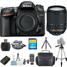 Nikon D7200 DSLR Camera with 18-140mm Lens (Black) PRO BUNDLE! Brand New!!