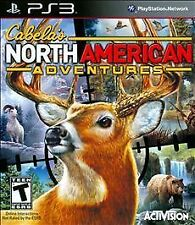 Playstation 3 Cabela's North American Adventures New