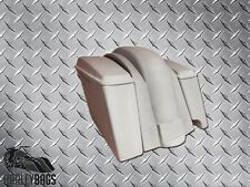 "4"" Stretched Saddlebags & Fender 2-in-1 Exhaust for Honda VTX 1300 1800 Bagger"