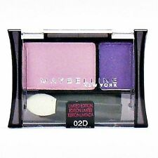 Maybelline PINK, PURPLE- VIOLET DUO EYE SHADOW 02D Fine in Fiji 1 NEW & SEALED