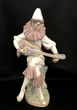 "Lladro ""Serious Clown"" Harlequin(4923/Christmas) MINT in Box Value 1,720.00RARE"