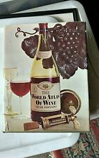 The World Atlas of Wine by Hugh Johnson HC/DJ 1971 fourth printing
