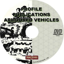 Armored Fighting Vehicles by Profile Publications {65 AFV History Books} on DVD