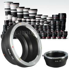 Camera Adapter - All Canon EF /EF-S Mount (EOS )Lens to Fujifilm Fuji X-Pro1 FX