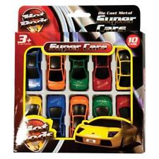 10x Children's Kids Die Cast Metal Hot Rods Toy Super Cars Various Styles UK SEL
