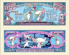 MINUS ET CORTEX BILLET MILLION DOLLAR! Collection Dessin Animé PINKY & the BRAIN