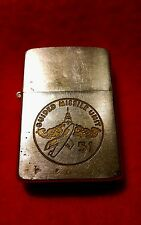 """RARE VINTAGE 1950-1957 ZIPPO """"GUIDED MISSILE UNIT""""/1ST TACTICAL MISSILE SQUADRON"""