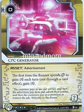 Android Netrunner LCG - 1x #034 CPC Generator - Station One