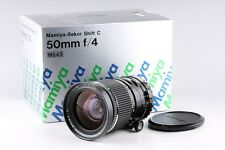 Mamiya Sekor Shift C 50mm F/4 Lens With Box for Mamiya 645 #8089F2