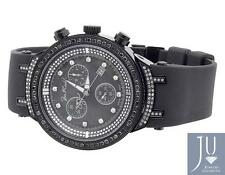 Mens New Joe Rodeo/Jojo Master 136 Black PVD JJM 74 Black Diamond Watch 2.65 Ct