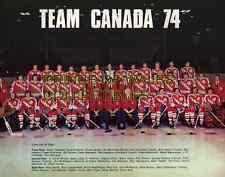 1974 TEAM CANADA PHOTO 8X10