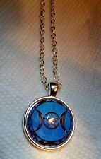 STUNNING *TRIPLE MOON GODDESS* NECKLACE OF PROTECTION & DESIRES SPELLS WICCA