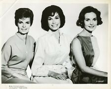 MARY TYLER MOORE LISABETH HUSH PATRICIA OWENS SMILING X-15 ORIG 1961 PRESS PHOTO