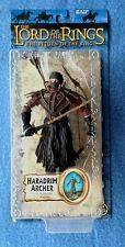 "HARADRIM ARCHER LORD OF THE RINGS THE RETURN OF THE KING 6"" INCH FIGURE TOYBIZ"