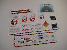 Custom Kenner The Real Ghostbusters 2 Ecto 1 Replacement Stickers - B2G1F
