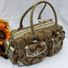 Authentic COACH Signature Gallery Pocket SoHo Satchel Bag Purse K05J 6232 ~ $458
