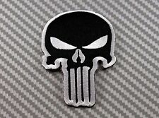 Embroidered Patch Iron Sew Punisher Morale Military Tactical Operator Army