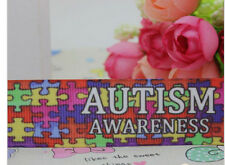 Autism Awareness Ribbon Jigsaw Puzzle