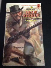 #5 Adam Steele Gun Run Western Novel George Gilman 1975