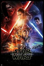 24x36 Star Wars Episode VII The Force Awakens Movie Poster licensed authentic