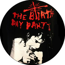 CHAPA/BADGE THE BIRTHDAY PARTY . pin button nick cave rowland howard scientists
