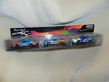 Nascar 3 Cars Speedway Collection With Display Case 5 Inch Long  1:43