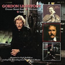 GORDON LIGHTFOOT - DREAM STREET ROSE/SHADOWS/SALUTE DOPPEL-CD NEW+