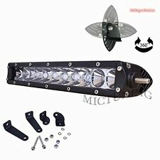 "11"" inch 50W CREE Single Row LED Combo Offroad Driving Work Light Bar"