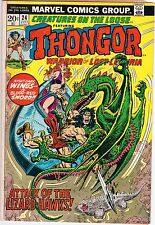 Marvel Comics Group Creatures on the loose # 24 -- Thongor