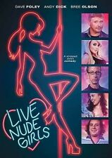 Live Nude Girls (2014) DVD Brand New Sealed Dave Foley Andy Dick Bree Olson