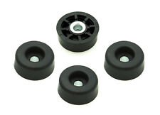 FOUR (4) SUPER SOFT RUBBER FEET FOR AMPS, RADIO GEAR, ATA CASES - FREE S&H