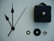 MEDIUM SPINDLE MOVEMENT WITH 90MM BLACK METAL FRENCH SPADE HANDS