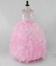 Flower Girl Dresses for Prom Wedding Birthday Pageant Princess Christing Party Y