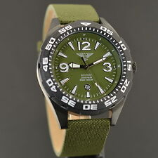 Army watch Sport 20 ATM impermeable diver reloj Náutico top-Design OVP m183