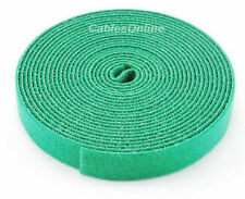Wrap Hook & Loop Cable Tie 15 ft./Roll Green, CT-515GR