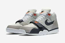Nike Trainer 1 Mid-Blanco Air/Obsidiana Oscuro Denim Pack - 317554 103-UK Size 7