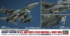 Hasegawa 1/72 Weapons IX - US Joint Attack Munitions & Target Pods HSG35114