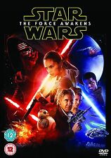 Star Wars Episode VII The Force Awakens DVD Brand New and Sealed Free P&P UK R2