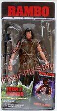 Rambo Series 2 Survival John J. First Blood movie Action Figure NECA Stallone