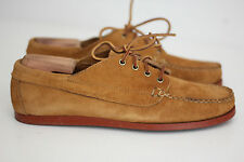 Oak Street Bootmakers Peanut Suede Brick Sole Trail Oxfords - Size 11D (A71