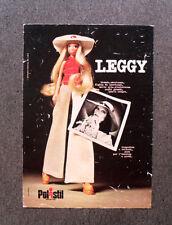 [GCG] N285 - Advertising Pubblicità - 1974 - POLISTIL , LEGGY BIONDA AMERICANA