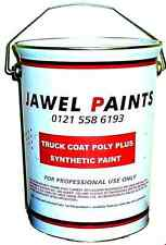Car - Comercial Paint Synthetic Enamel FORD DIAMOND WHITE Direct Gloss  5 Litre