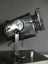 big retro projector lamp light movie machine age INDUSTRIAL Cremer Paris THEATRE