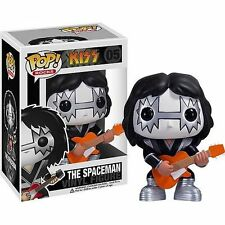 FUNKO POP ROCKS KISS #05 THE SPACEMAN RARE RETIRED VINYL FIGURE~FAST POST !!!