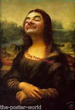 Mona lisa highjacked par mr bean photo poster wall art print neuf